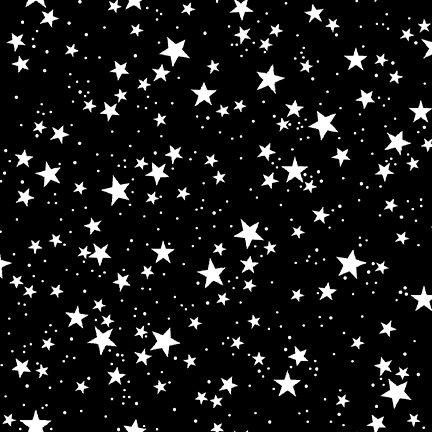 So Adora-Boo! Stars On Black