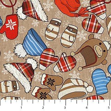 Cutie Hooties Winterwear on Tan