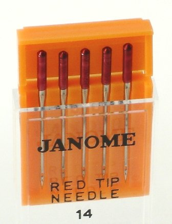 Janome Red Tip Needle Size 14