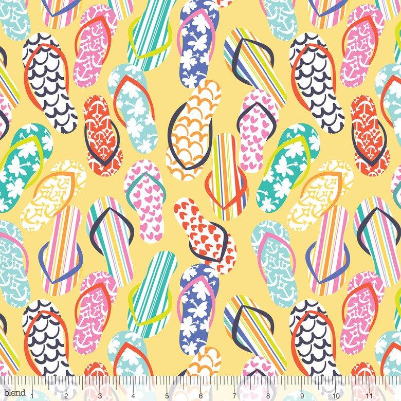 Flip Flops - Yellow