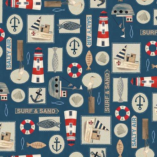 Harbor Days - Nautical Motif