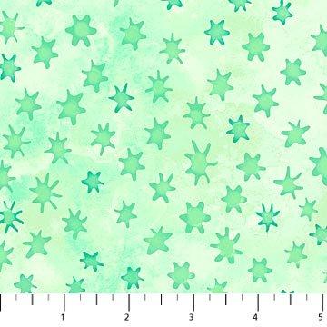 Ocean Tides Stars - Green