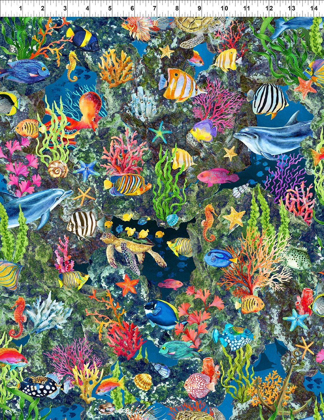 Calypso Sealife - Blue