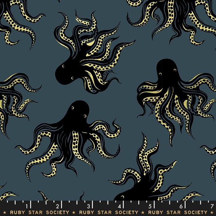 Octopus - Metallic on Smoke
