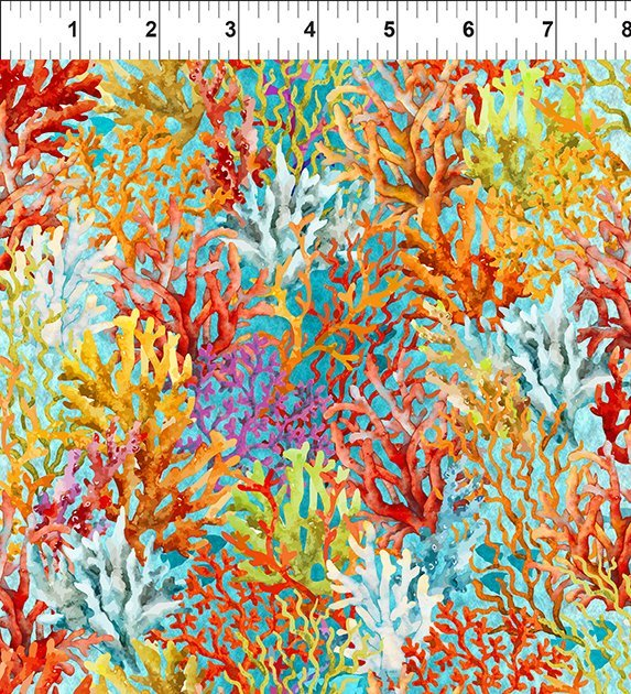 Rainbow Coral - Green