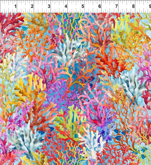 Corals - Blue