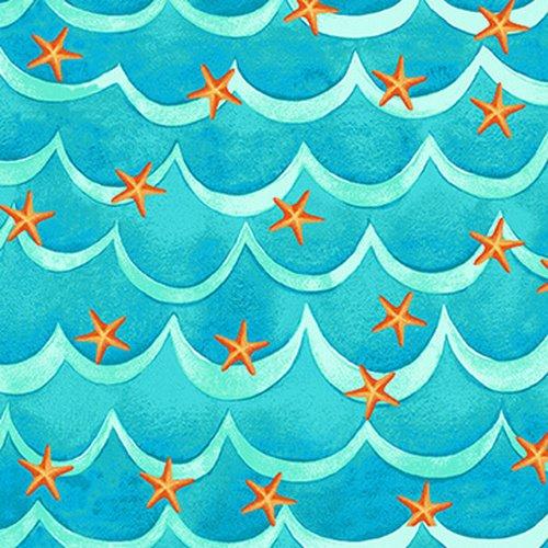 Starfish & Waves