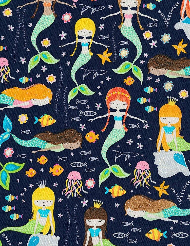 Swimming Glitter Mermaids