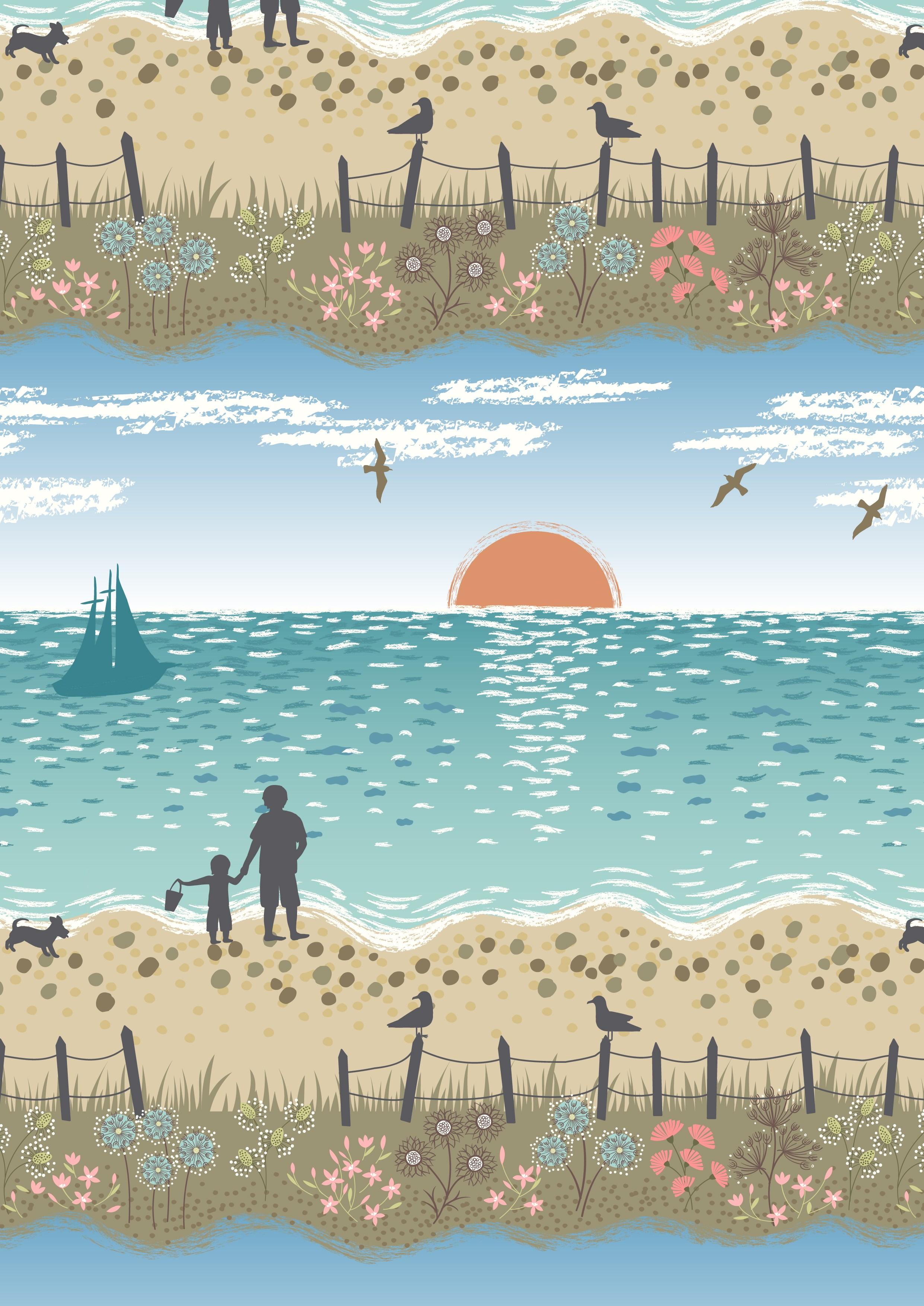 Studland Beach - Blue