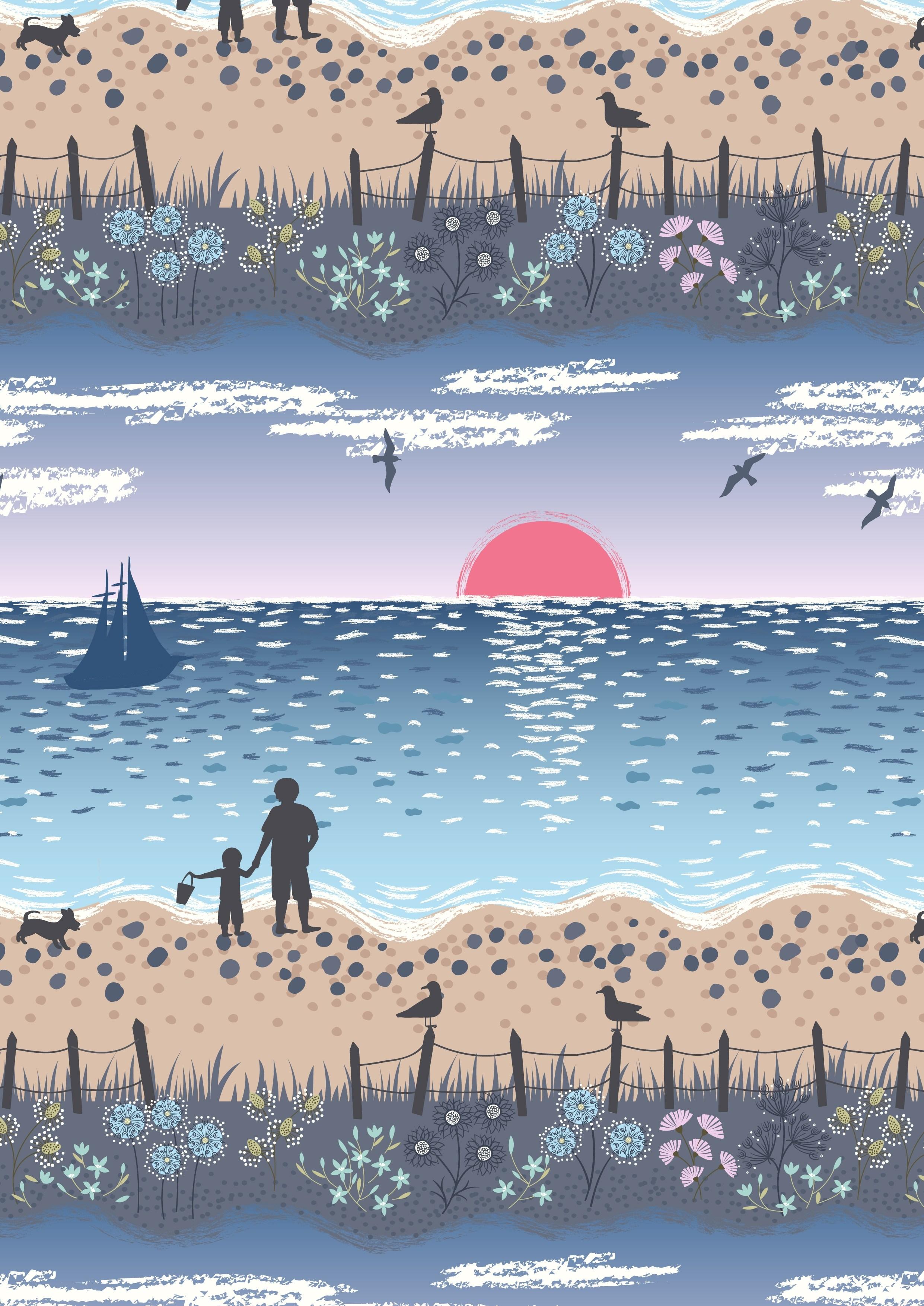 Studland Beach - Deep Blue