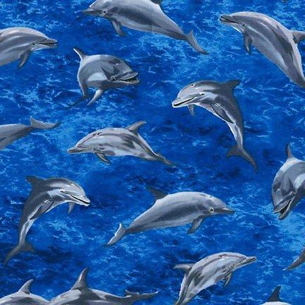 Dolphins - Ocean Blue