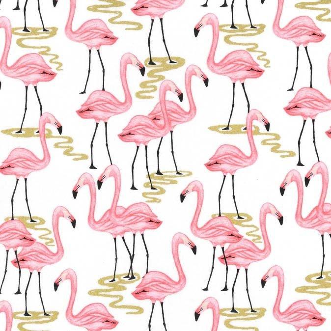 Flamingo Bay - White