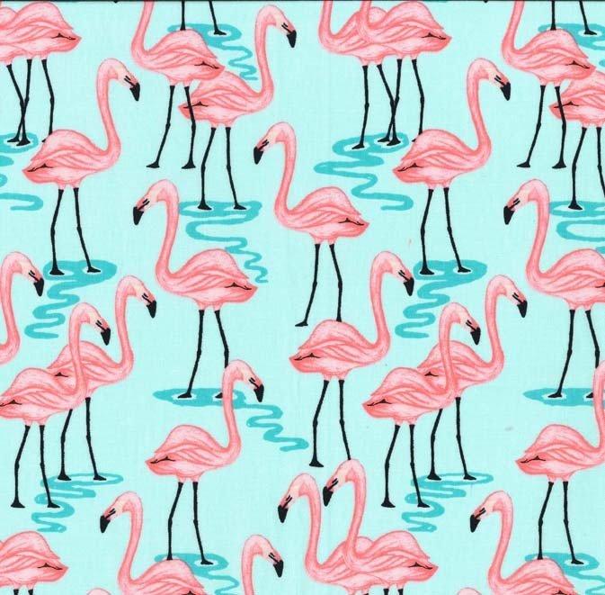 Flamingo Bay - Aqua