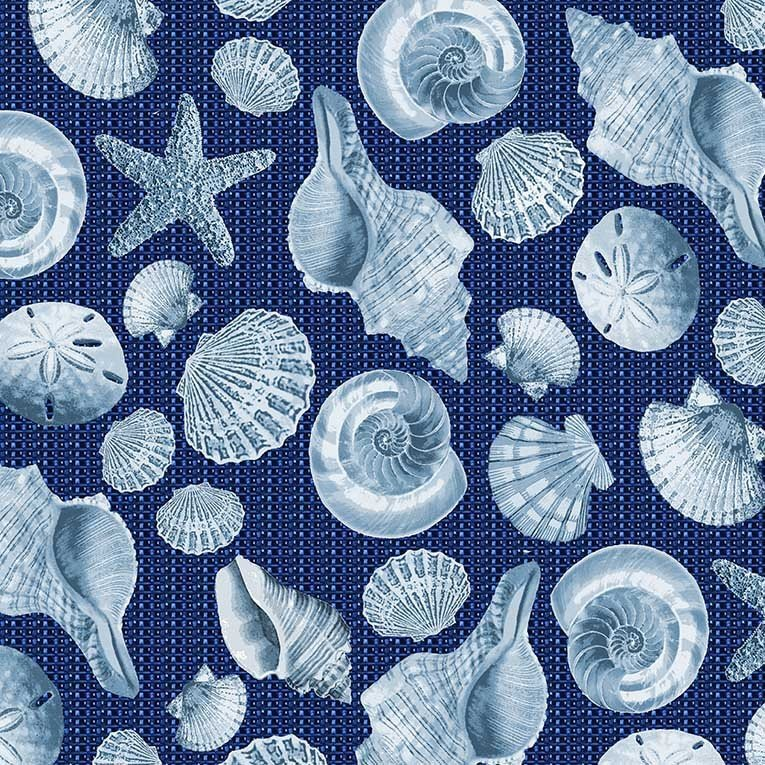 Beachcomber Shells - Blue