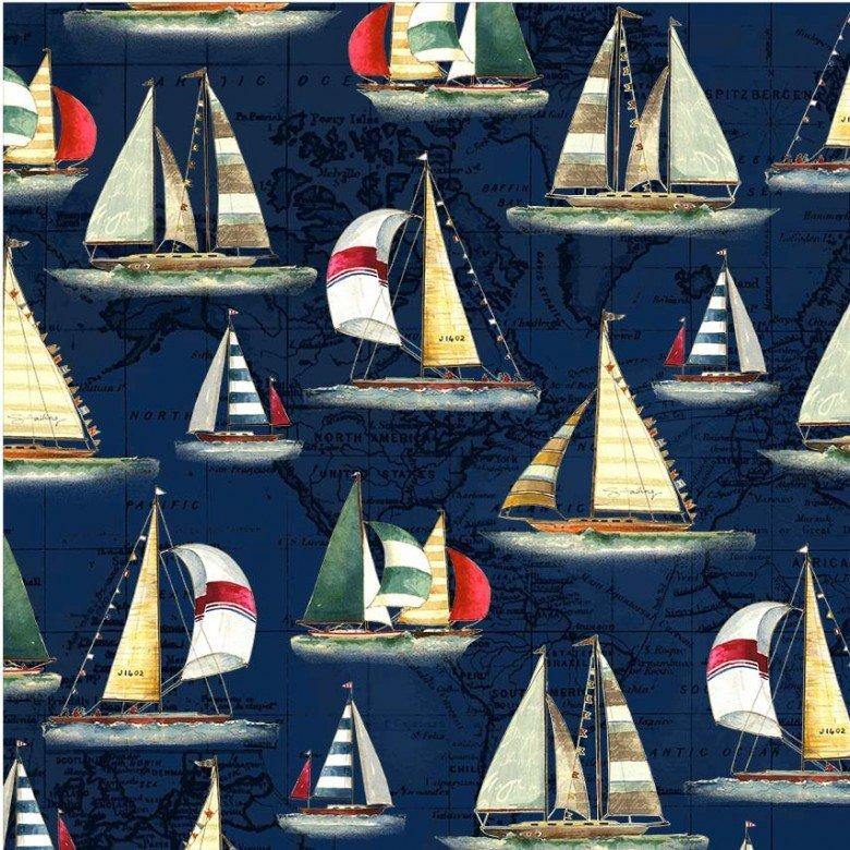 Sailboats on Navy