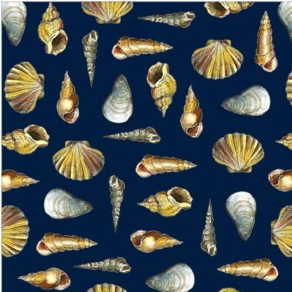 Mini Shells - Navy