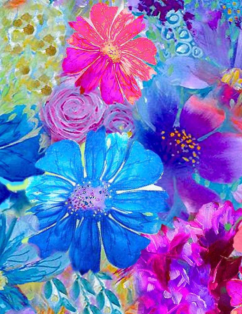 Painted Fleur