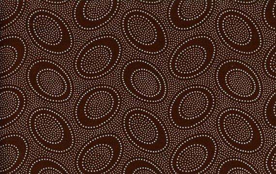 Aboriginal Dots - Chocolate
