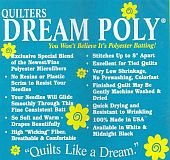Quilters Dream Polyester - Crib