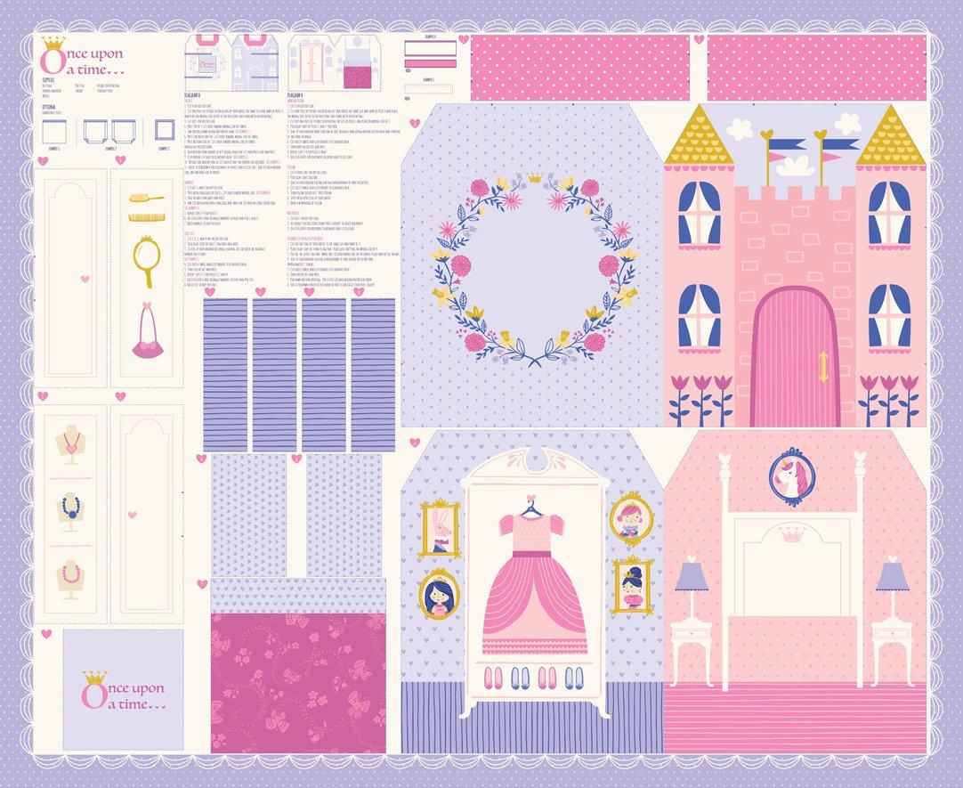 Princess Dollhouse Panel