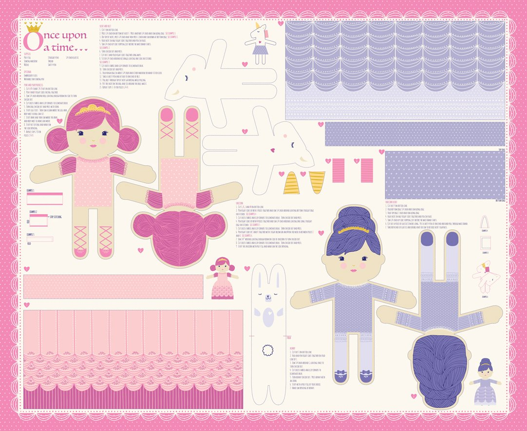 Princess Doll Panel