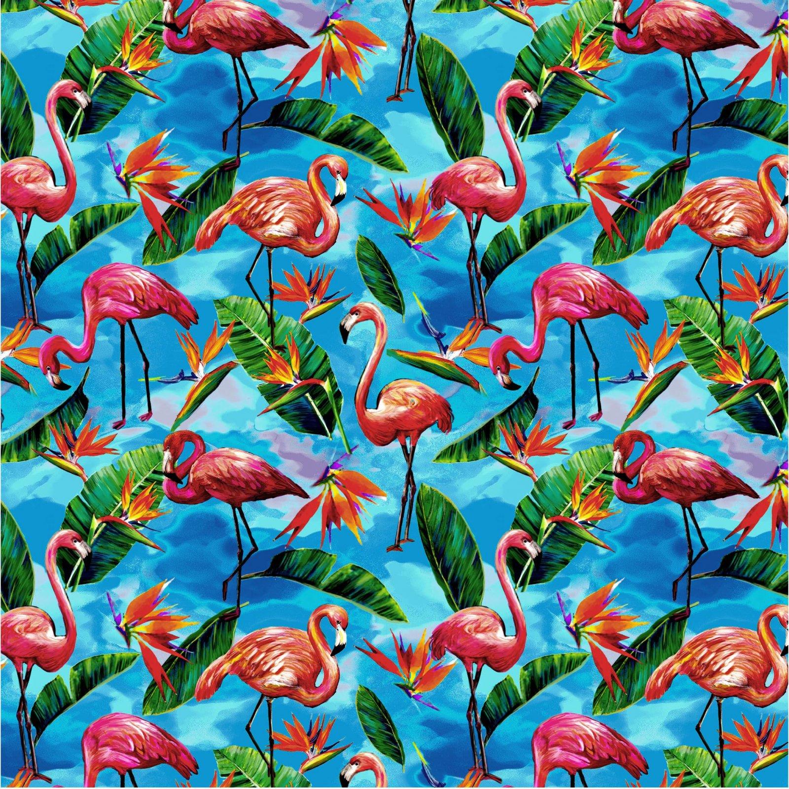 Tropical Flamingo - Deep