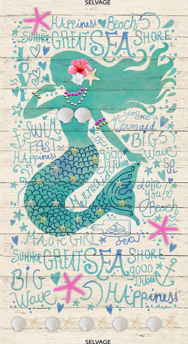Mermaid Happiness Panel