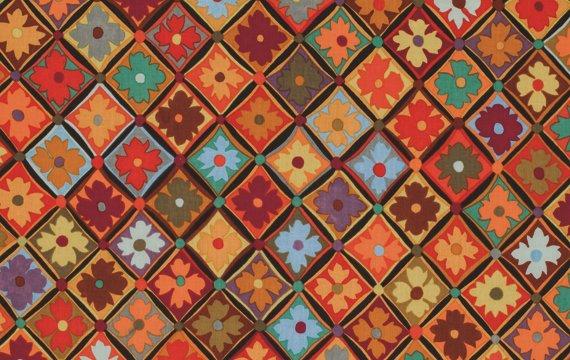 Antwerp Flowers - Brown