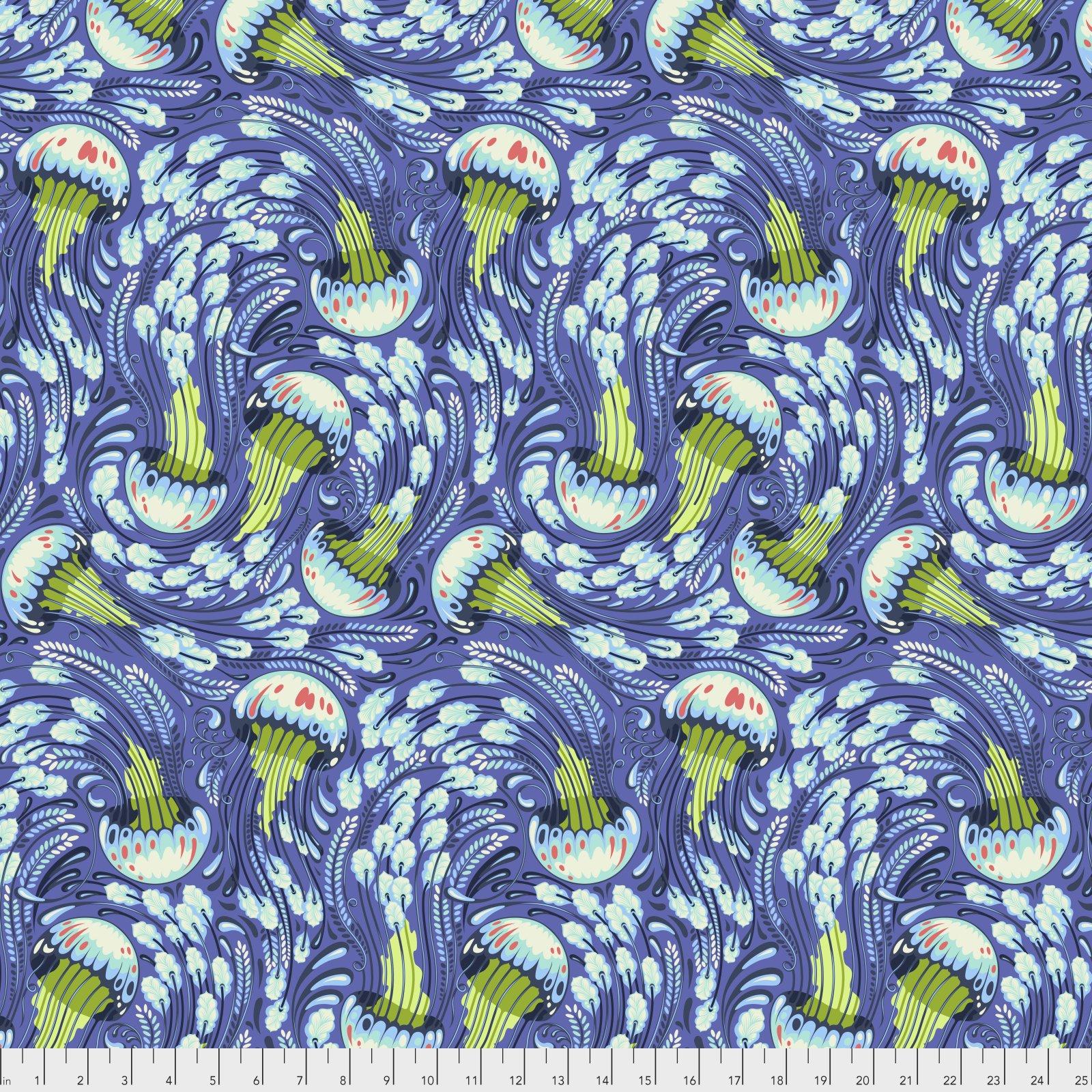 Sea Bloom - Aquamarine