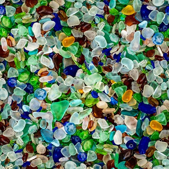Sea Glass Pebbles
