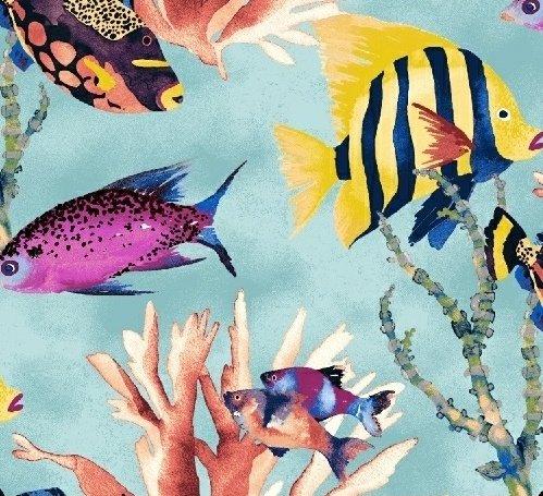 Coral Reef - Aqua