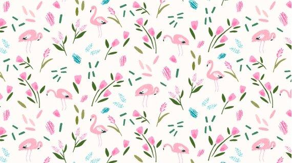 Lost Flamingo - White