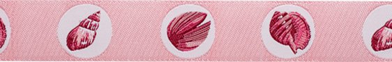 Shells on Pink Ribbon