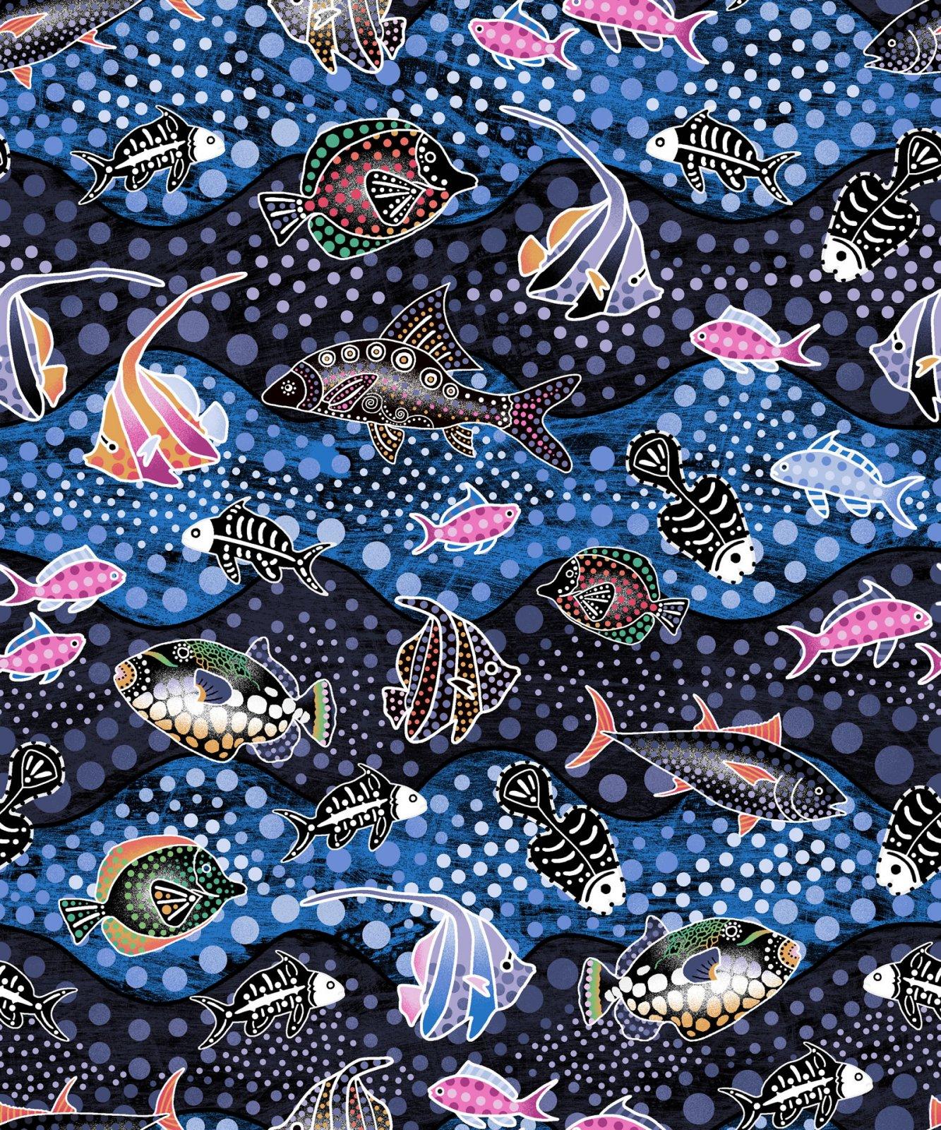 Tropical Fish - Blue