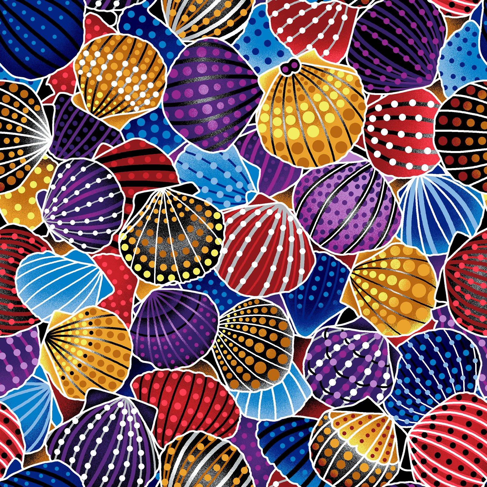 Scallop Shells - Purple