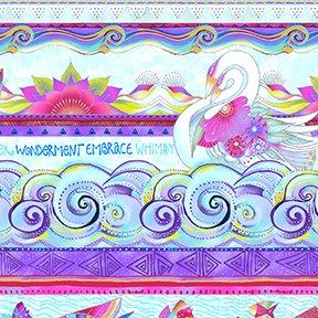 Sea Goddess Stripe - Aqua