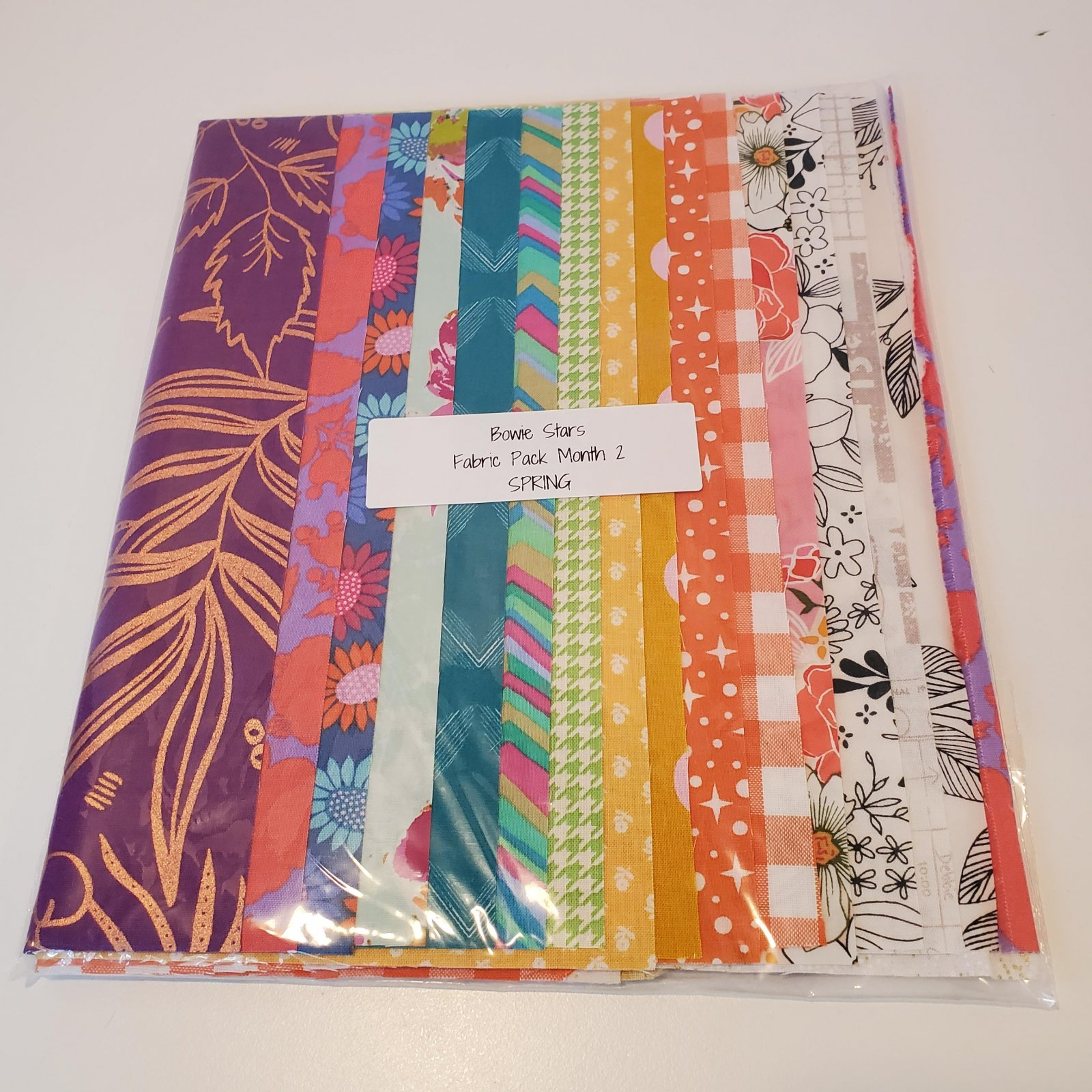 Bowie Stars Fabric Pack Month 2 - Spring