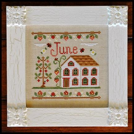 June Cottage - Cottage of the Month by Country Cottage Needleworks