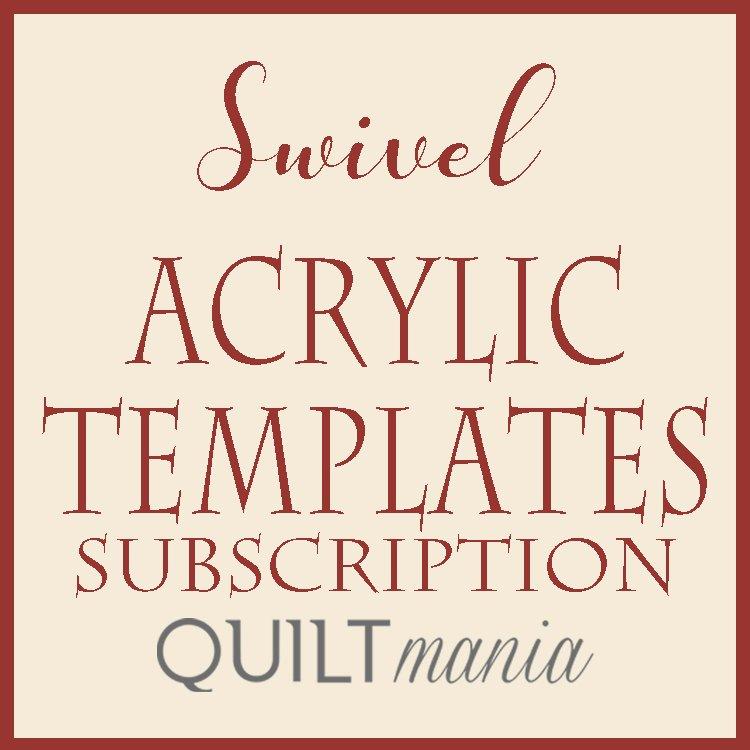 Swivel Acrylic Templates Subscription