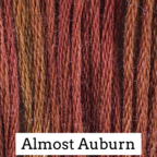 Almost Auburn Classic Colorworks 6 Strand Hand-Dyed Embroidery Floss