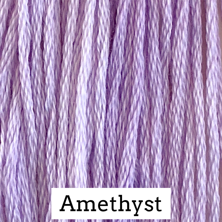 Amethyst Classic Colorworks 6 Strand Hand-Dyed Embroidery Floss