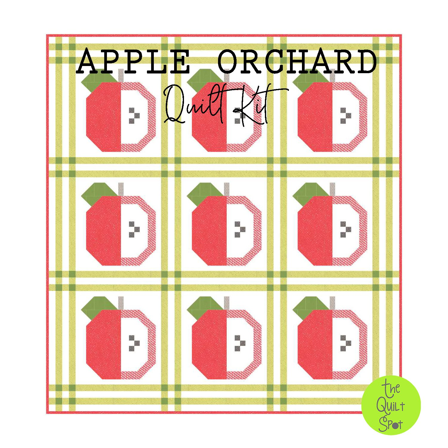 Apple Orchard Quilt Top Kit