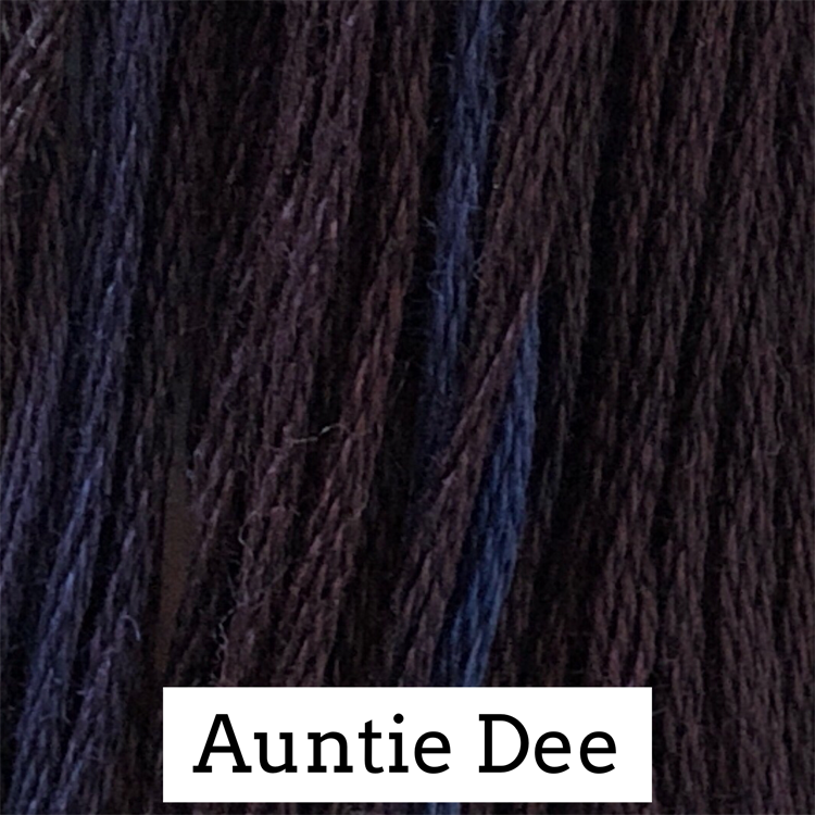 Auntie Dee Classic Colorworks 6 Strand Hand-Dyed Embroidery Floss