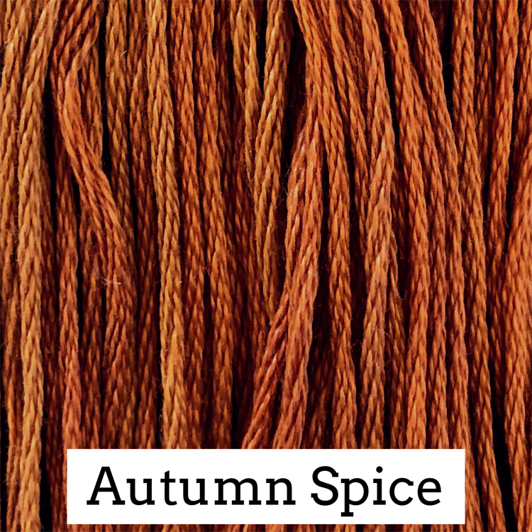 Autumn Spice Classic Colorworks 6 Strand Hand-Dyed Embroidery Floss