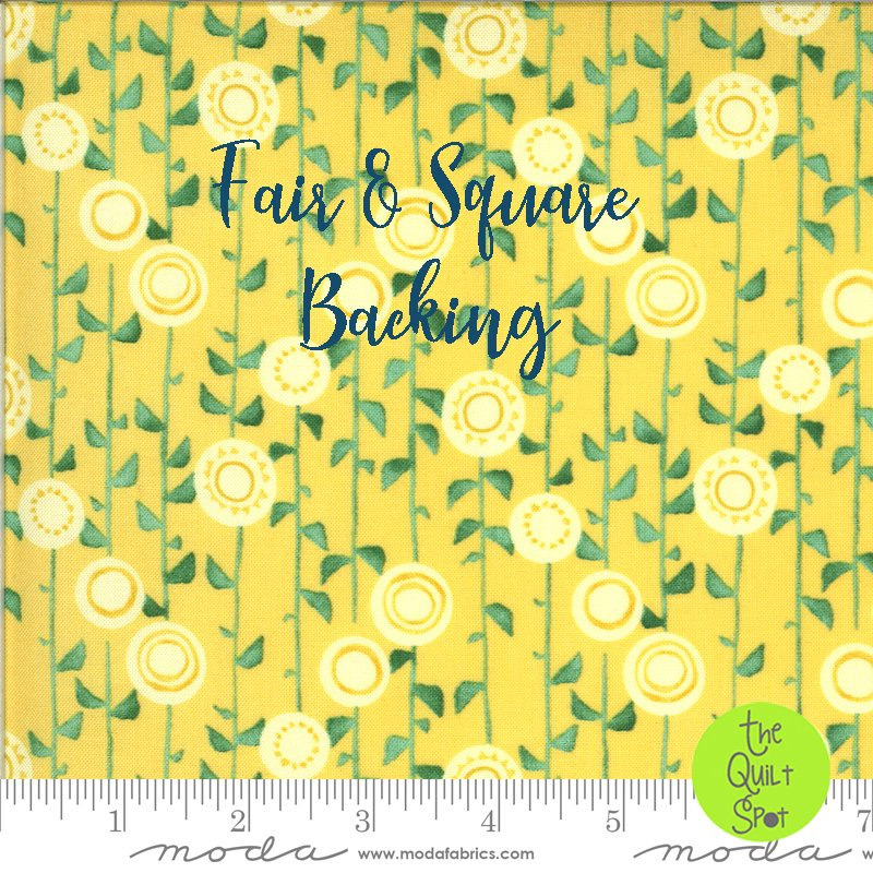Fair and Square Backing Set