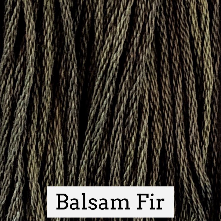 Balsam Fir Classic Colorworks 6 Strand Hand-Dyed Embroidery Floss