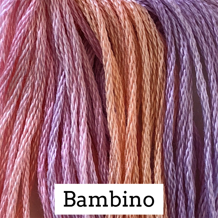 Bambino Classic Colorworks 6 Strand Hand-Dyed Embroidery Floss