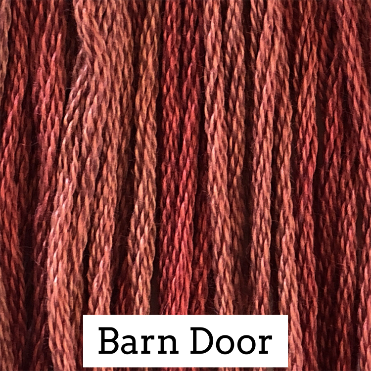 Barn Door Classic Colorworks 6 Strand Hand-Dyed Embroidery Floss