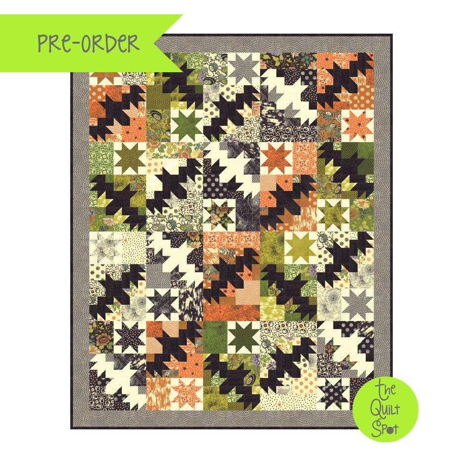 Night Flight Hallo Harvest Quilt Kit