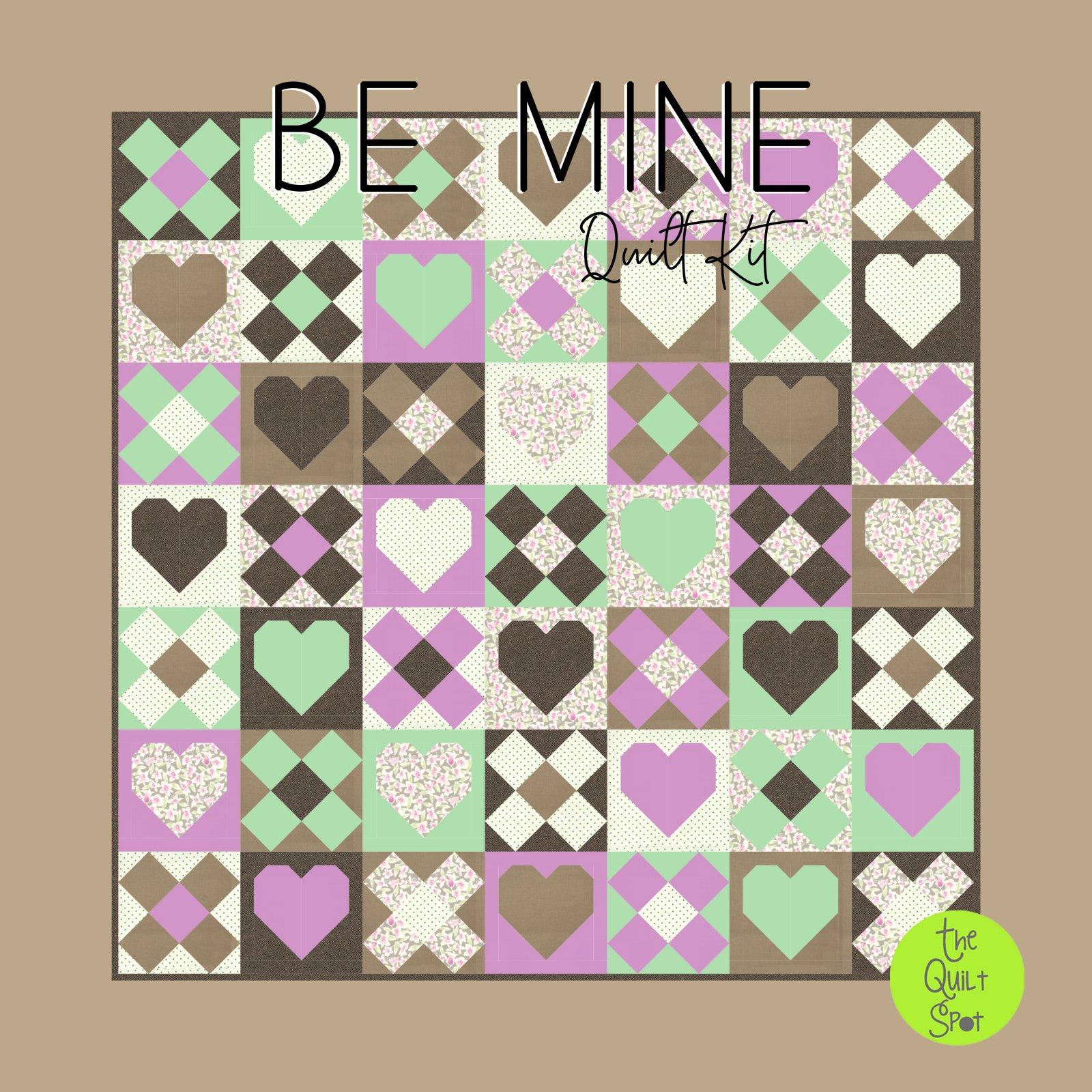 Be Mine Quilt Kit
